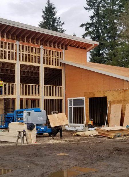Medical Arts Facility - Framing nearing completion